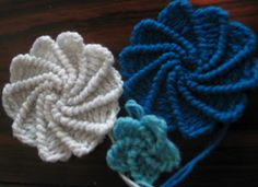 Crochet Spiral Flower - Tutorial this is great!