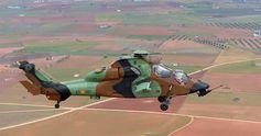 El 'Tigre' HAD en uno de sus primeros vuelos
