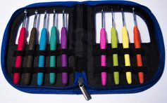 Get Yours for 1/2 OFF When You Enter CODE JIQLPMH3 at checkout HERE --> http://amzn.to/1LT0j8v LIMIT 1 PER PERSON UNTIL JULY 12TH #1 Premium Crochet Hooks with Comfortable Ergonomic Grips to Crochet for Longer with No Hand Pain! Hook Set with 9 Different Size Crochet Needles to Tackle Any Project and Be Creative! Best Crochet Kit and Case to Stay Organized and Crochet Anywhere!