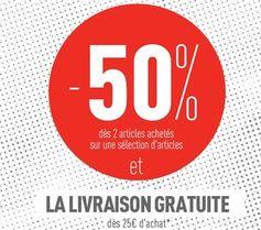 Offre -50% dès 2 articles chez Pimkie + livraison gratuite (à partir de 25 euros)  - http://www.bons-plans-malins.com/offre-50-des-2-articles-chez-pimkie-livraison-gratuite-a-partir-de-25-euros/ #Mode