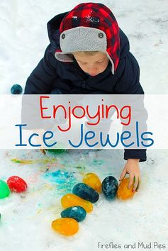 Make ice jewels!