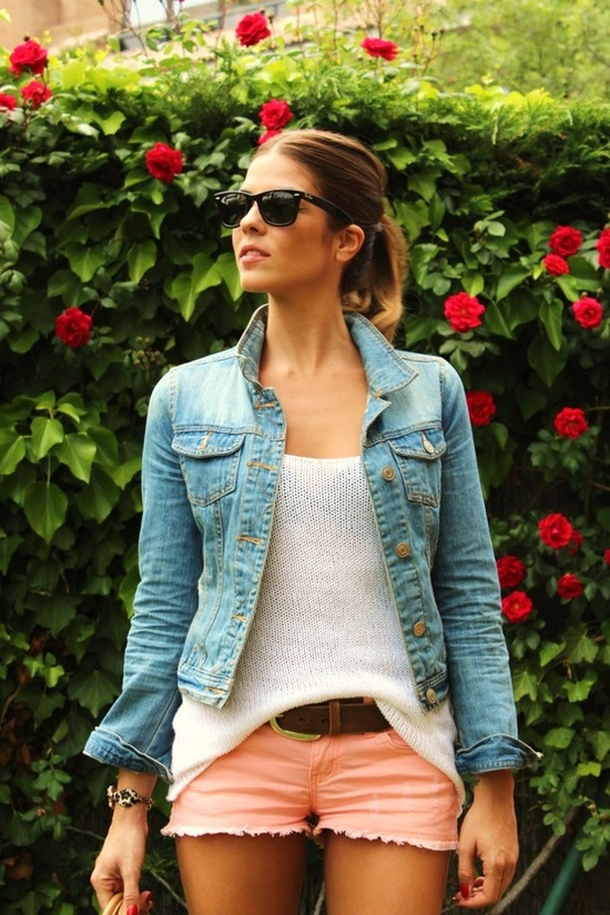 jean jacket - wardrobe staple.