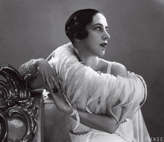 Elsa Schiaparelli, 1932  Photographed by George Hoyningen-Huene
