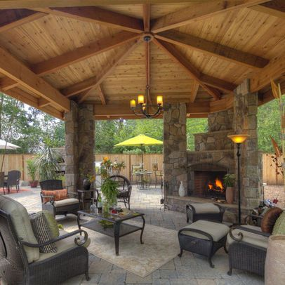 Best Outdoor Living Rooms: Outdoor living room - kitchen ... on Living Room Fire Pit id=54469