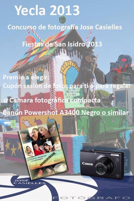 Concurso de Fotografía Jose Casielles con motivo de las fiestas de san isidro 2013 en yecla
