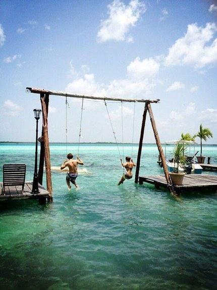ocean swings