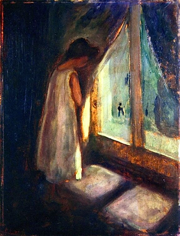 Girl by the Window, 1896-98 Edvard Munch