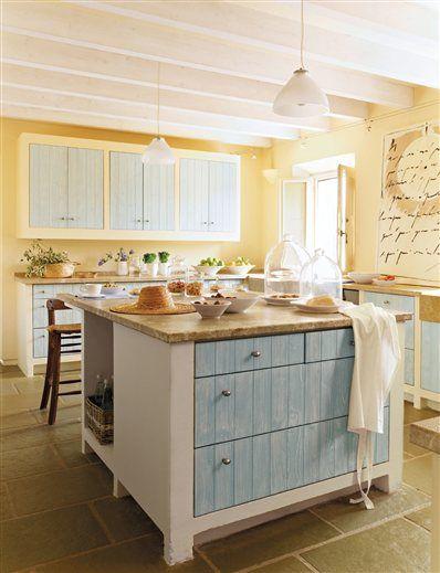 color in a farmhouse kitchen kitchen ideas pinterest on farmhouse kitchen wall colors id=82363