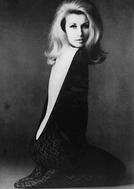 Jane Holzer by David Bailey