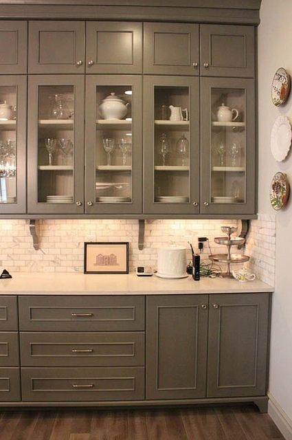 grey kitchen cabinets to the ceiling kitchens pinterest on kitchen cabinets to the ceiling id=59019