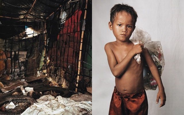 Where Children Sleep - a glimpse of the way children sleep around the world, contrasting poverty and wealth