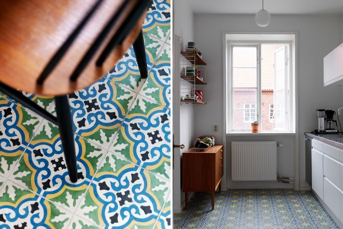 my scandinavian home: Bold patterns and colours in a Malmö apartment