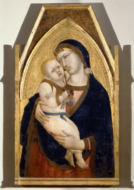 Ambrogio Lorenzetti Madonna with Child C. 1340 Inv. 605 tempera on board 108 x 63 cm Siena, Pinacoteca Nazionale