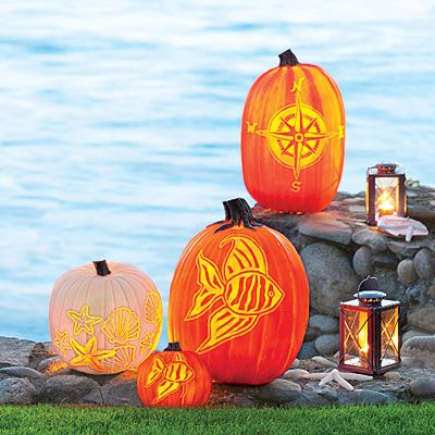 Carve a Coastal Pumpkin! - Coastal Living