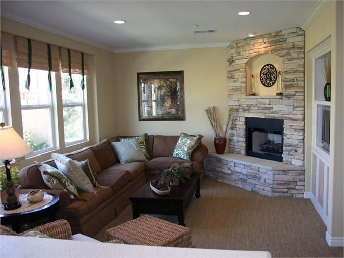 Small Living Room With Fireplace | Zion Modern House on Small Space Small Living Room With Fireplace  id=56569