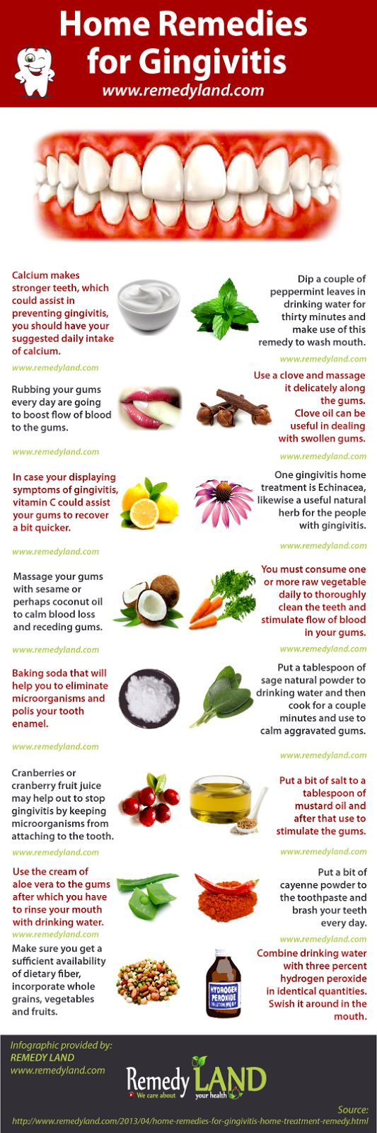 home remedies for gingivitis #gingivitis