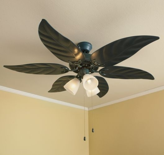 Green Leaf Ceiling Fan For The Home Pinterest