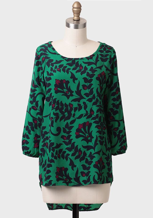 Night Perfume Floral Blouse at #Ruche @Ruche