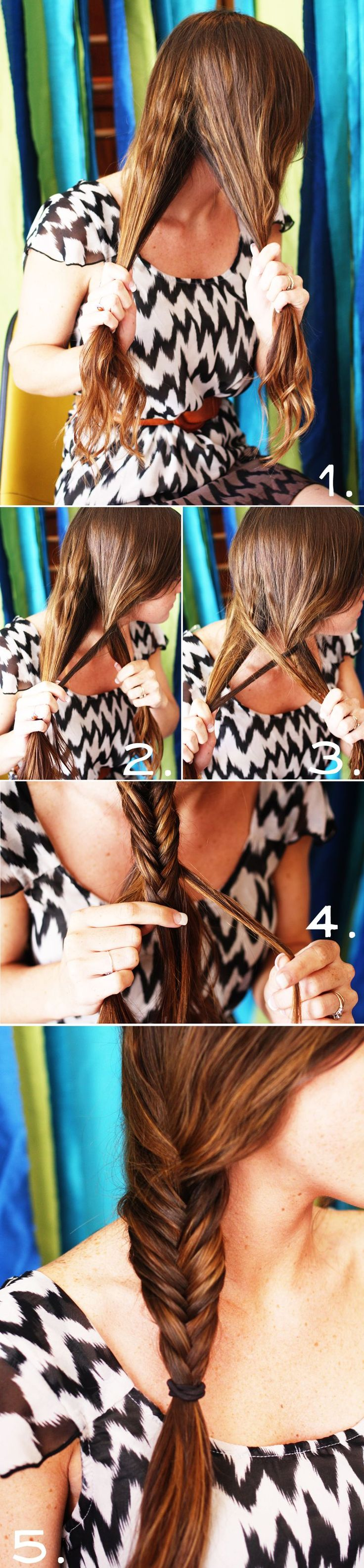 Fishtail braid...