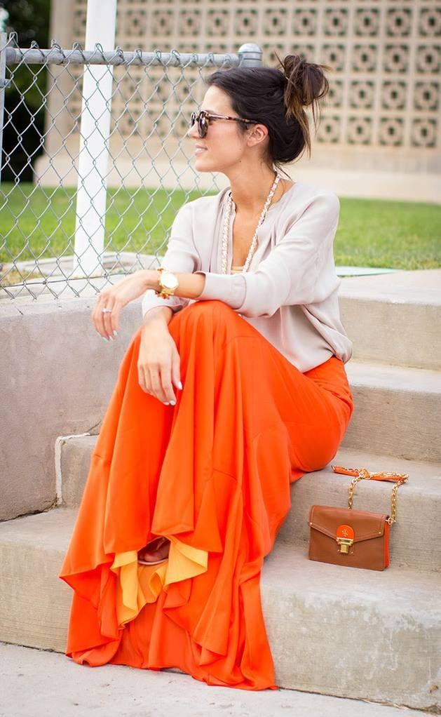 Orange Flow  #