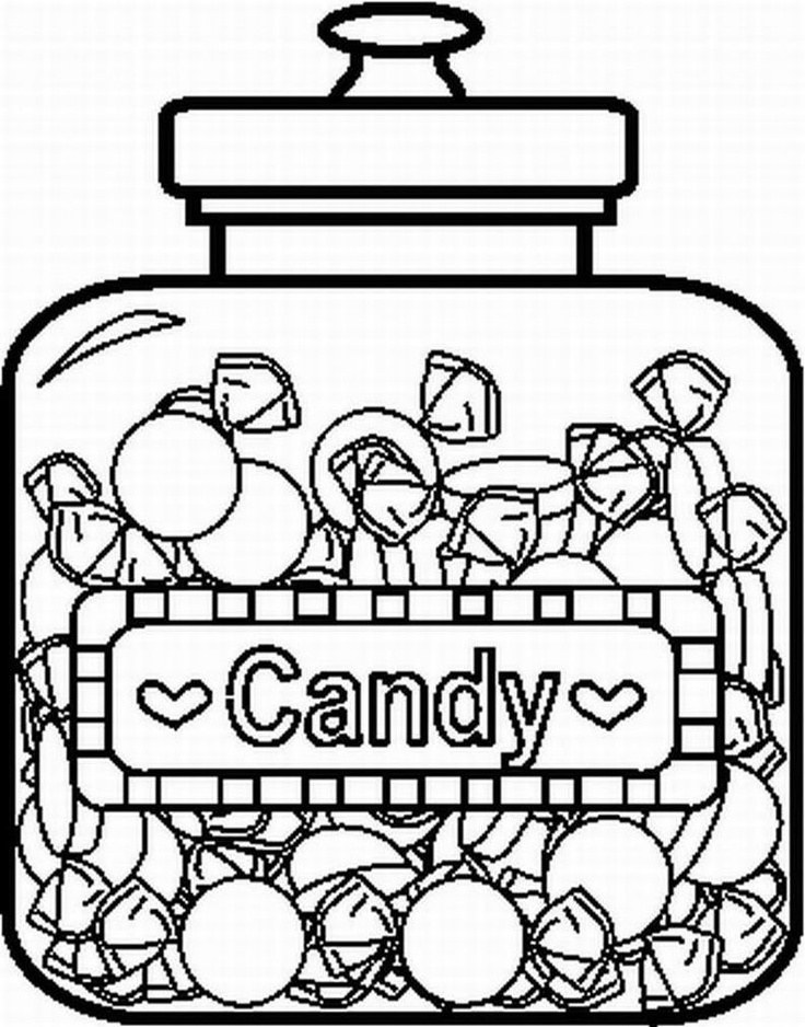 wonka candy pages coloring pages