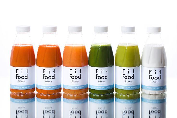 FIT FOOD - juice cleanse. Designed by Paulius Budrikis. Management: Rasa Jankauskaitė. Photography: Robertas Daskevičius. Lithuania.
