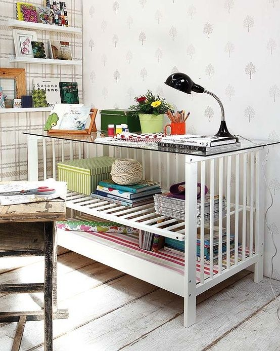 5 Amazing Ways to Upcycle a Baby's Cot | Baby Budgeting, upcycle a cot