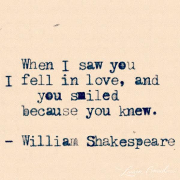 Love quote by William Shakespeare