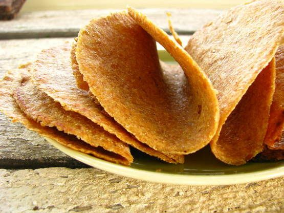 Flax Tortillas. These actually look bendy! Nice alternative for bread, easy and good for you. Flavour with something like paprika or rosemary maybe. Fill with avocado, egg, meat, salad etc. Yum. I think they should freeze well too.