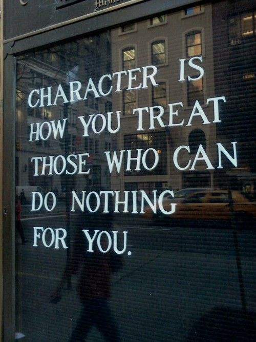 Character...