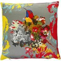 floral cushion