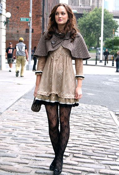 "Gossip Girl's Best Looks From All 6 Seasons!: Season 1, Episode 9: ""Blair Waldorf Must Pie!"""