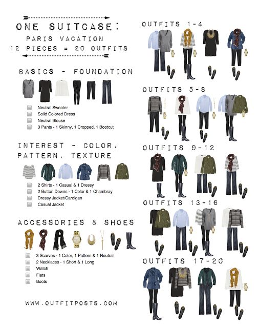 I'm in love with the concept of capsule wardrobes.