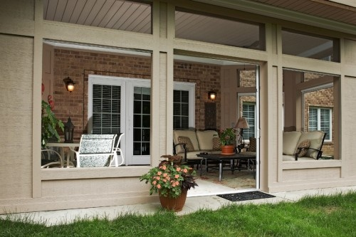 closed in patio | I can do this...myself. | Pinterest on Closed Patio Design id=49739