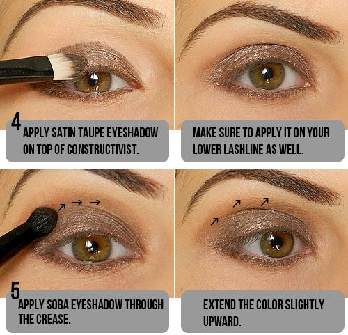 Makeup Tips, Beauty Reviews, Tutorials | Miss Natty's Beauty Diary Blog: Step by Step Smokey Taupe Eyeshadow Tutorial!