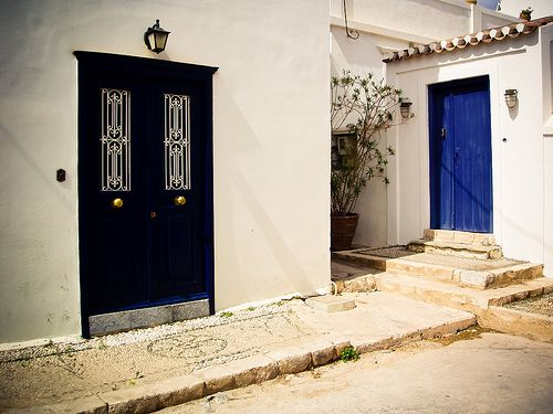 Doors in Spetses