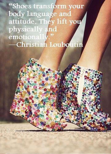 Fashion quote - Christian Louboutin