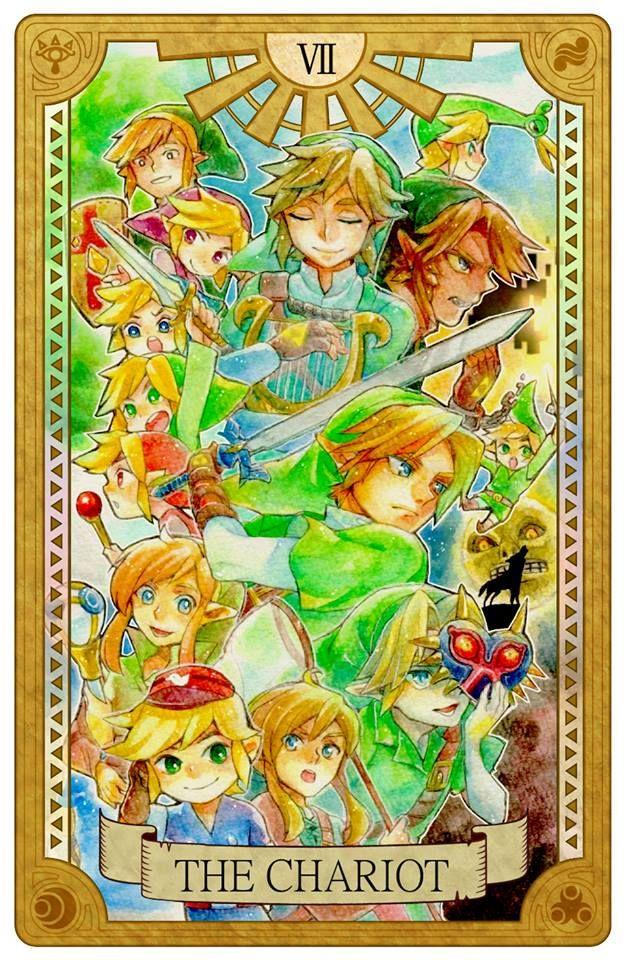 Zelda Tarot Card The Legend Of Pinterest