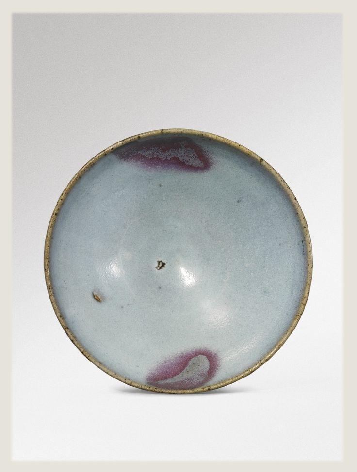 A splashed purple-back 'jun' bowl, Song-Jin Dynasty