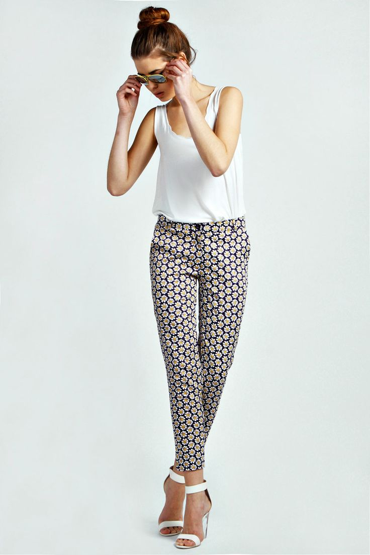 Slim Fit Daisy Trousers