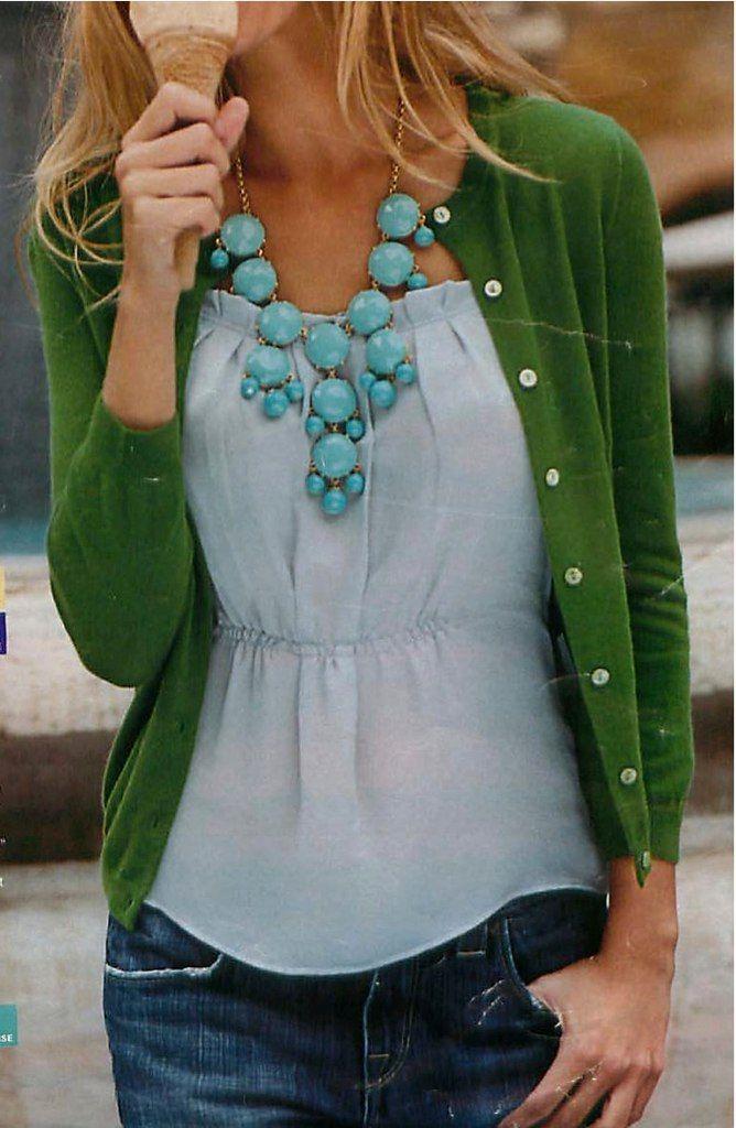 blues + green
