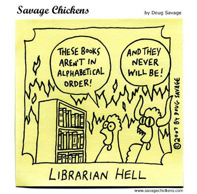 Librarian Hell: Savage Chickens