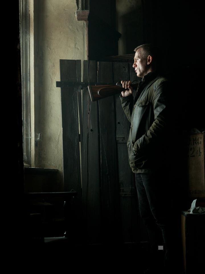 Danial Craig as James Bond in Skyfall
