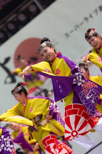 第60回よさこい祭り 舞華 | Flickr - Photo Sharing!