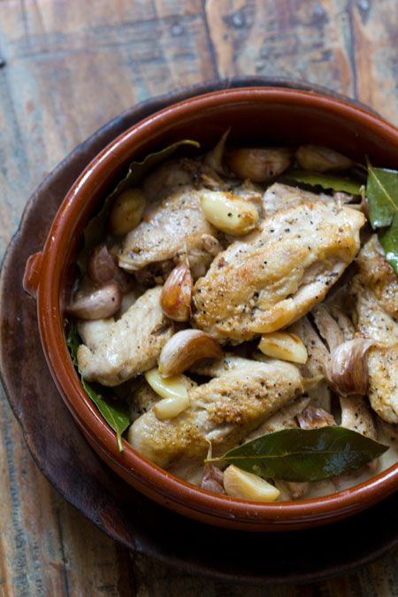 Acacia •  Pollo al Ajillo (Chicken with Garlic)