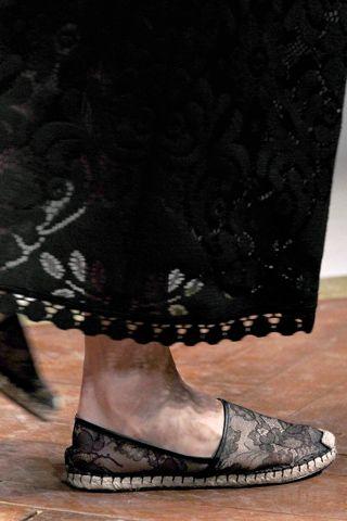 Valentino lace espadrilles