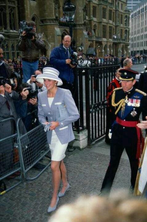 Diana and Prince Charles