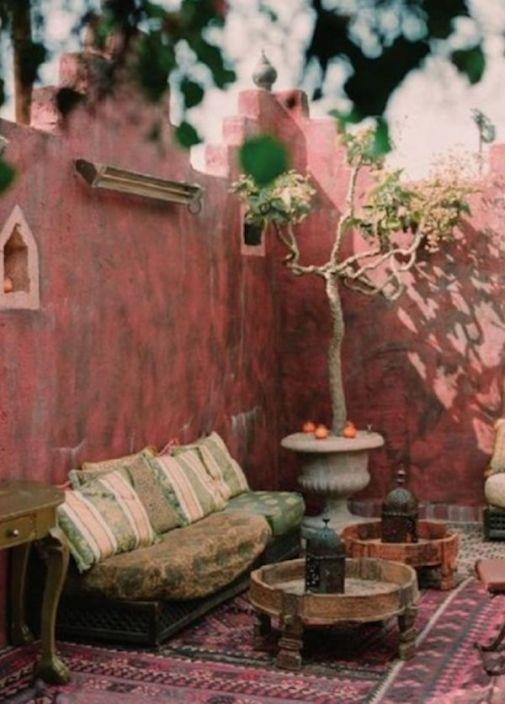 veranda in stile marocchino