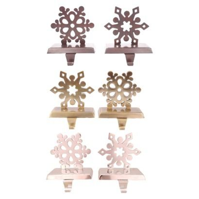 Snowflake Stocking Holders