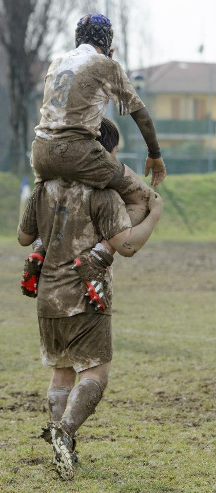 Rugby & amicizia ....  grande e piccola!